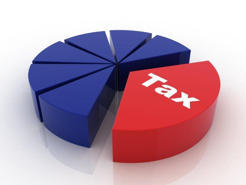 диаграмма налогов