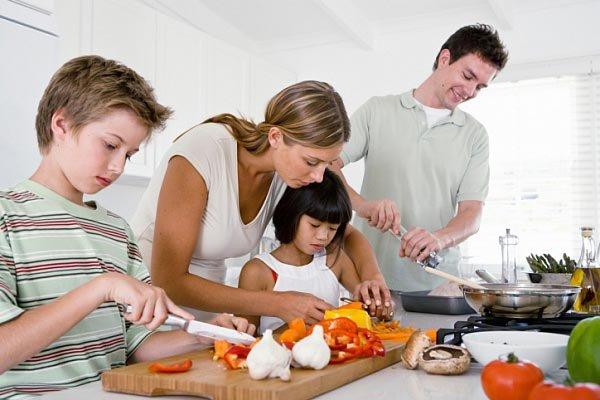 готовка в доме