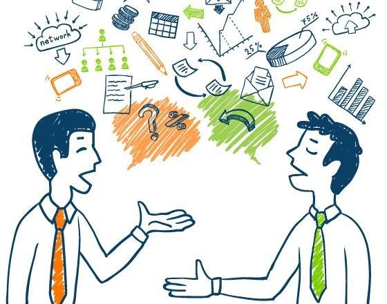 Разговор между людьми
